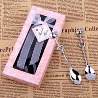 Hot sale Cute Nice Wedding Gifts Food Coffee Stainless Steel Flatware Mini Tea Coffee Fork Spoon Fork Spoon Set Tableware Tool