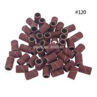 Gros-Freeshiping 1000 pcs / pack Nail art Bandes de ponçage pour manucure pédicure Nail Drill Machine