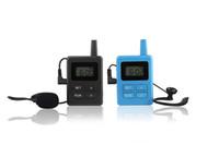 Système de guide audio numérique sans fil pour les conférences de l'église, de guides et d'audio (1 émetteur + 1 récepteur)