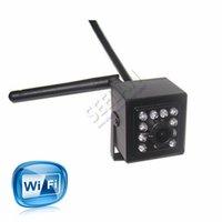 مصغرة ir كاميرا داخلي 940nm ir led اللاسلكية wifi ip كاميرا الثقب أصغر للرؤية الليلية ل 1.0 ميجابيكسل 720 وعاء HI3518E