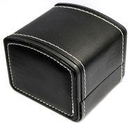 Новая роскошная коробка 11*11CM витринного шкафа хранения вахты кожи PU коробок подарка