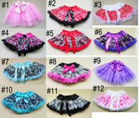 Nieuwe Baby Meisjes Ballet Dance Rok Tutu Pettiskirt Luipaard Print Jurk 1pc Fres Shipping