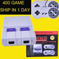Super Famicom Mini Classic SFC TV Handheld Game Console Entertainment System Buit-in 400 Классические игры SFC NES Games Console oth711