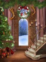 Antecedentes de Navidad Fotografía 5x7ft vinilo personalizados fondos de fotografía digital SD-693
