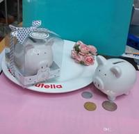 Душа ребенка выступает керамическая мини копилка в подарочной коробке с горошек лук копилка монета коробка свадебные сувениры