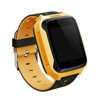 DHL 2018 neue GPS Tracking Uhr für Kinder Q528 Y21 GPS Smart Watch Taschenlampe Kamera Baby Watch Touchscreen SOS Anruf Location