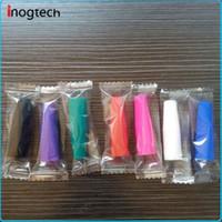 Силиконовые мундштук крышка капельного наконечника одноразовые красочные кремния тестовые советы тестер крышка индивидуально пакет для CE MT3 клиромайзер Оптовая DHL