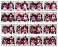Chandails de hockey des Blackhawks de Chicago, 75e anniversaire 19 Jonathan Toews 8 Nick Schmaltz 2 Duncan Keith 81 Marian Hossa 10 Sharp 21 Stan Mikita