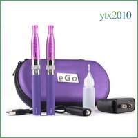 GS H2 Ego t doppio starter kit sigaretta elettronica H2 atomizzatore 2.0 ml EGo T 650/900/1100 E sigaretta 510 filo Ecig