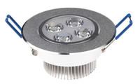 4W LED downlight kühles / warmes Weiß 400LM führte Decken-unten beleuchtet energiesparende geführte Lampe frei durch FEDEX / DHL