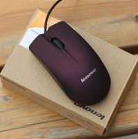Rato Óptico USB Mini 3D Com Fio Gaming Ratos Com Caixa de Varejo Para Computador Portátil Notebook Jogo Lenovo M20 Frete Grátis