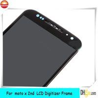شاشة LCD اللمس محول الأرقام + الإطار موتورولا موتو X + 1 × 2ND الجنرال 2014 XT1096 92 الجملة والتجزئة