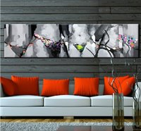 Hand Painted Top Quality Sexy Oil Painting Abstract Decor Ar...