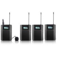 Бесплатная доставка 100м беспроводная система гид для экскурсии учение Церкви 3 приемника 1 передатчик с микрофоном
