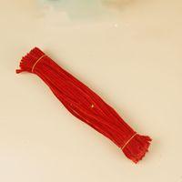 Творческие искусства синель стержень Красный синель ремесло стебли Трубоочистители, 6 мм х 12 дюймов, 500 шт