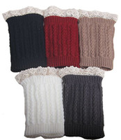 Lace Cable Knit Boot Cuff knit boot topper faux legwarmers s...