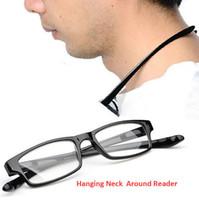 Pescoço moderno Pendurado Leitores de Óculos de Leitura Aspheric Ultra Confortável Leitor de Estiramento 20 pçs / lote, Frete Grátis