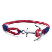 Tom Hope bracelet 4 size Arctic Blue thread red rope chains ...