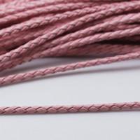 Beadsnice intrecciato corda di cuoio cordoncino in pelle collana di cuoio braccialetto rendendo componente forniture gioielli all'ingrosso ID 3433