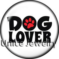 AD1303078 12/18/20 мм оснастки на подвески для браслет ожерелье горячие продажа DIY выводы стекло Оснастки кнопки собака дизайн Нуса,изготовление ювелирных изделий