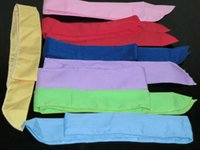 100Pcs Pure Color Neck Cooling Scarf Cooler Towel Cooling He...