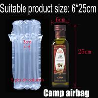 Aufblasbare Luftstausack (Dia.6 * H25cm) Air Cushion-Säule (3 cm) Buffer-Tasche Schützen Sie Ihr Produkt Fragile Waren