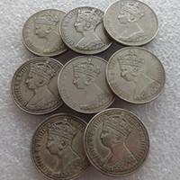 Um florim UM CONJUNTO DE (1852-1881) Grã-Bretanha Inglaterra REINO UNIDO Reino Unido 1 moeda de prata gótica