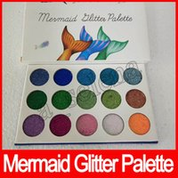 Newest Makeup! Glamierre Mermaid GLITTER PALETTE 15 Ultra Pi...