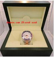 Lüks Kol Switch II 18 K Gül Altın Çelik 44mm Erkek Otomatik İzle 116681 erkek Spor Bilek Saatler Orijinal Kutu Kağıtları