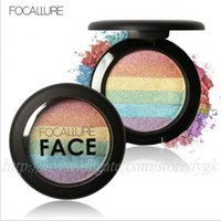 Focallure 2018 DIY Face Makeup Rainbow Highlighter Eyeshadow...