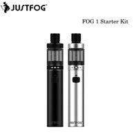 100% Origianl Justfog FOG1 Starter Kit 1500 mAh Bateria Vape Pen 2 ml Top Atomizador De Enchimento Do Tanque VS Vape Pen 22 Kit