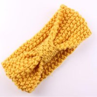 Baby Ear Warmer crochet headband Yellow color cute baby girl...