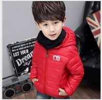 new winter children cotton padded fashion hooded outwear war...