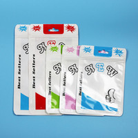 New and Good Clear Colors Plastic Poly Bags OPP Packing Zipp...