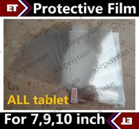 Ultra Clear Screen Protector Guard pour 7 pouces 9 pouces MTK6572 Allwinner A33 Q88 86V Tablet PC JF1
