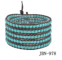 New Arrival bracelet 2015 braided beauty rammel health bangles for women 5 layers knitted smart bead energy charm bracelet 2pcs/lot JBN-978