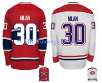 2016 جديد ، 2015 مونتريال كندينس خمر كريس نيلان # 30 رئيس الوزراء هوكي الجليد جيرسي رخيصة الأحمر و 2014 كلاسيكي الأبيض jerse