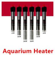 25W 50W 100W 300W 300W Chauffage de l'aquarium Tige de chauffage submersible durable pour l'aquarium Verre Poisson TERRAIN TEMP Livraison gratuite