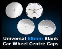 5 قطع 68 ملليمتر مركز العجلة مركز قبعات سنترال hub العالمي فارغ hubcaps للسيارات