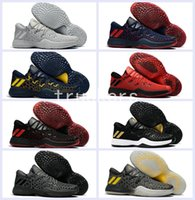 2017 New Harden Vol. 2 Mens Low Basketball Shoes Black Red G...