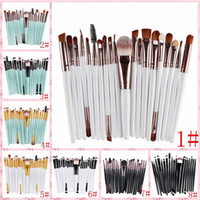 Cheap 21 color 20 OPP bag eye makeup brush set brush eye sha...