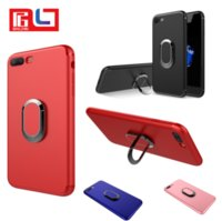 Magnetic Ring Phone case for Car Driver TPU soft shell for I...