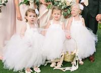 Принцесса Цветочница Свадебные платья Pageant платья белого платья для первой евхаристии рождения Маленькие Девочки одежда для свадьбы 121