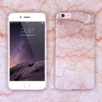 الرجعية الرخام باتن القضية لآيفون 6/6 ثانية / 6 ثانية زائد هارد pc فوندا رقيقة جدا ملحقات الهاتف الغطاء الخلفي ل iphone7 / 7 زائد