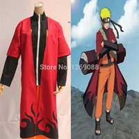 Hot sale!!! Anime Naruto Shippuden Cosplay Costume Uzumaki U...