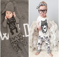 Fashion Boys&Girls Kids Small Monster Short LongSleeve T Sh...