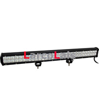 4 PZ 28 Pollici 180 W CREE LED Barra luminosa Jeep Camion Rimorchio 4x4 4WD SUV ATV Fuoristrada 12v Lavoro Lampada da lavoro Matita Fascio diffuso