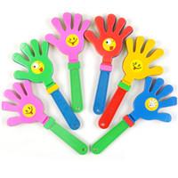 3PCS Moda renkli el tokmağı Konser parti tezahürat sahne çocukların Gürültü Makineleri alkış oyuncak alkışlıyor küçük eller