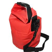 Yeni 5L Kuru çanta Su Geçirmez Çanta için Kayık Kano Rafting Kamp Yürüyüş için Seçim için Kırmızı Mavi