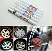 Новые горячие 28 цветов шин Постоянные краски Pen шин металла наружной маркировки Чернила Маркер Креативный хорошее качество